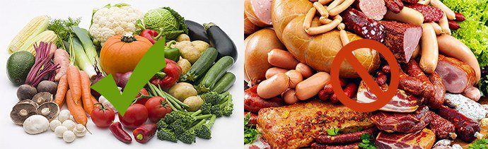 принцип питания при псориазе