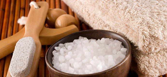 прием ванн с морской солью