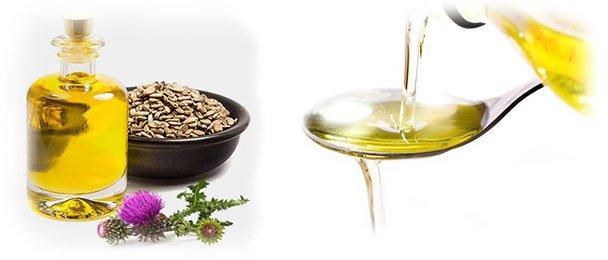 применение масла расторопши