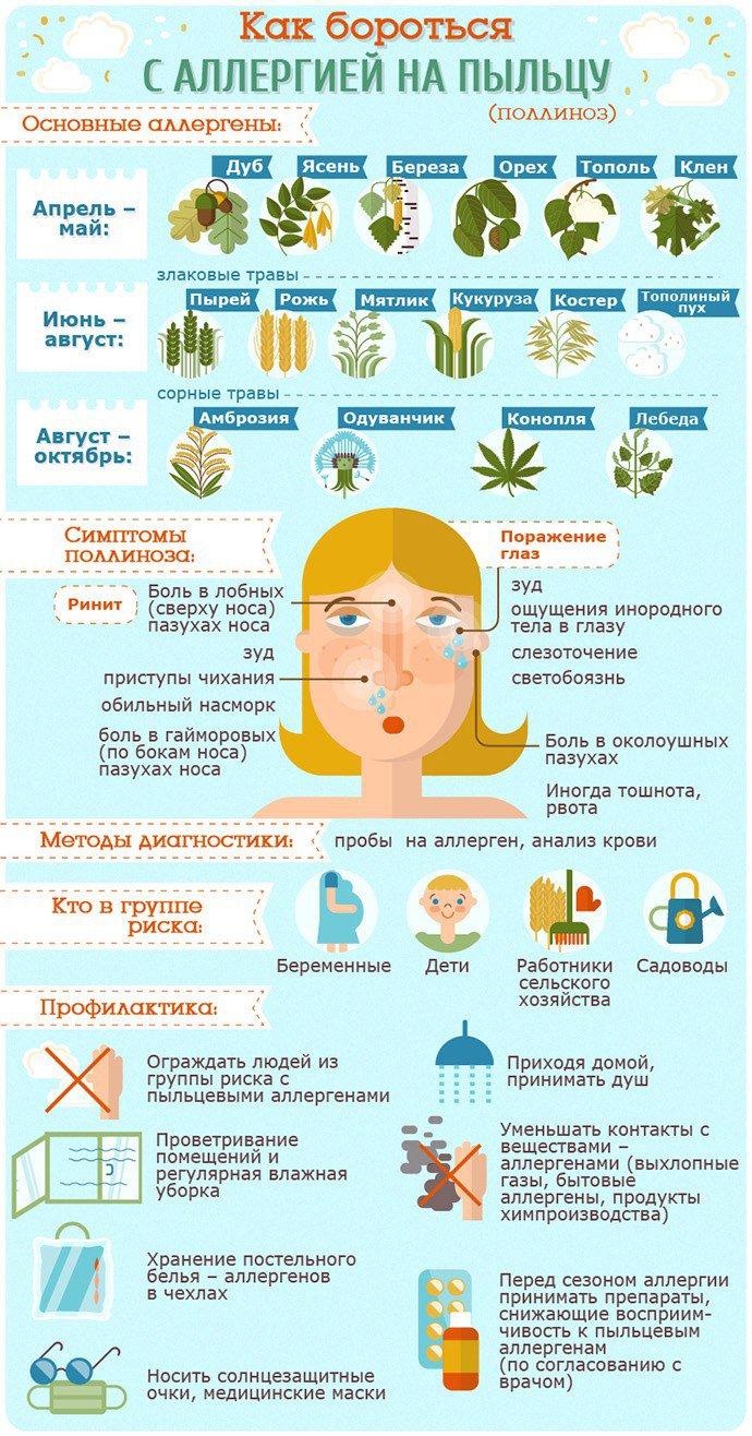 борьба с аллергией на пыльцу