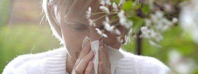 весенняя аллергия