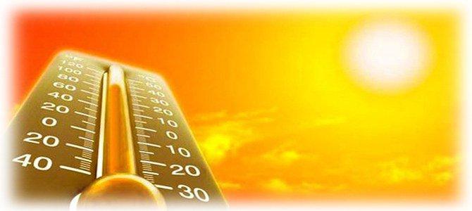 жаркая погода летом