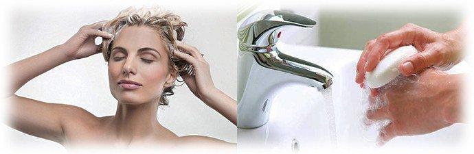 правильное использование шампуня