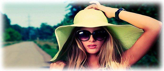 использование солнцезащитных очков
