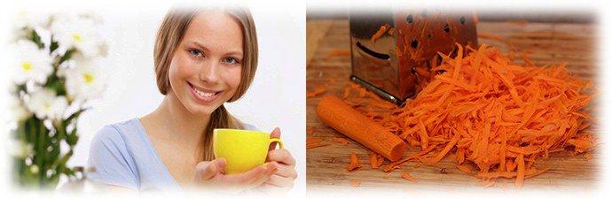 цитварное семя и морковь