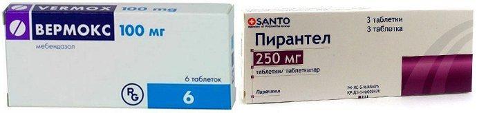 антигельминтные средства