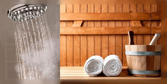Горячий душ и баня