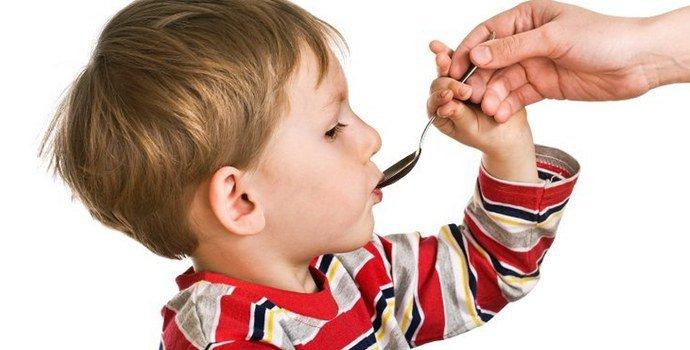Суспензия для детей от глистов