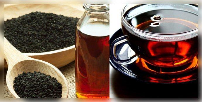 Масло Тмина и чай