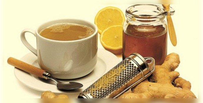 Имбирный чай с курукумой