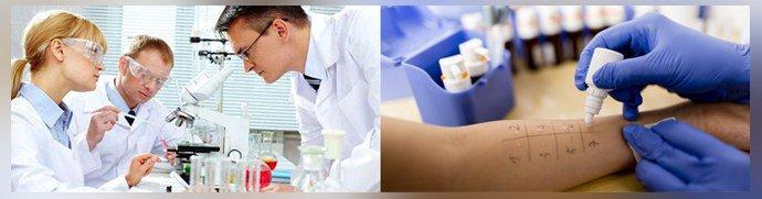 Диагностика аллергии и псориаза