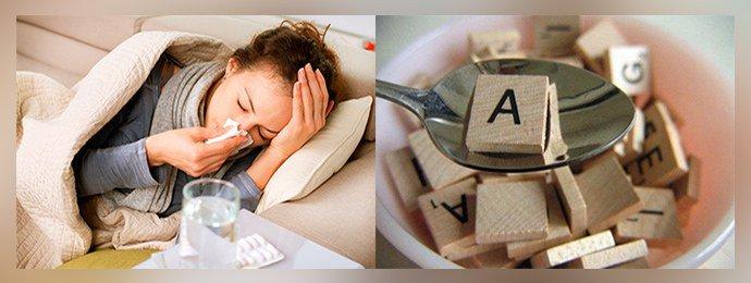Угнетение иммунной системы, авитаминоз