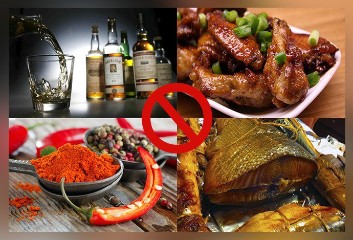 Запрещенная пища