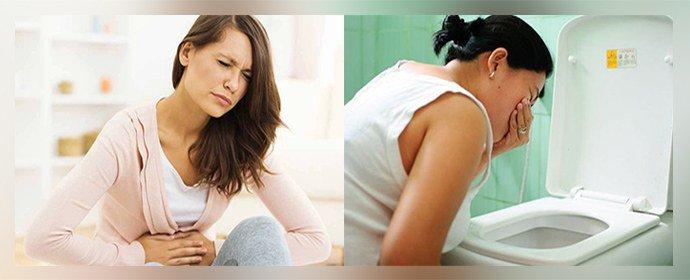 Нарушение работы органов пищеварения