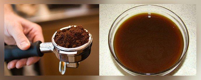 Ванночка из кофе