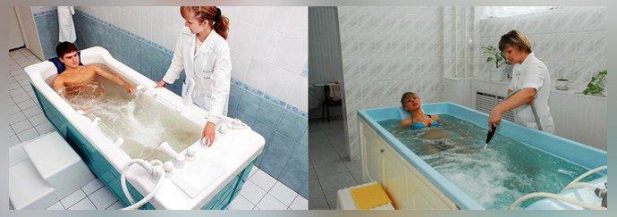 Ванны с содержанием рапы