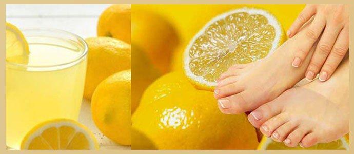 Сок лимона при онихомикозе