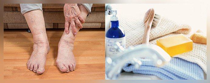 Личная гигиена и грибок ногтей у пожилых