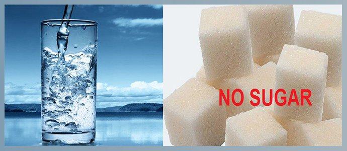 Отказ от сахара и питьевой режим