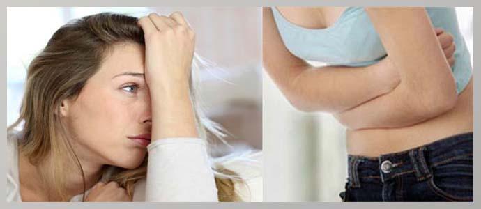 Расстройство пищеварения, слабость