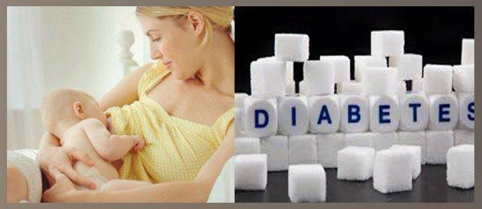 Сахарный диабет, Лактация