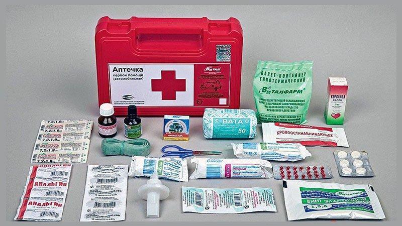 Состав аптечки