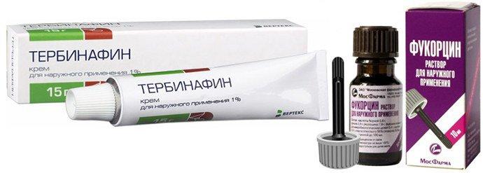 Тербинафин, Фукорцин