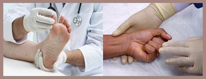 Начальная стадия грибка ногтей на руках и ногах