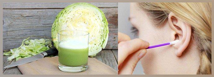 Применение сока из капусты