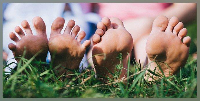 Экзема между пальцами ног
