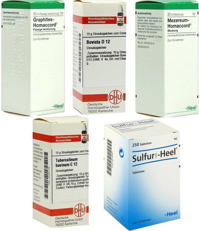 Гомеопатические средства